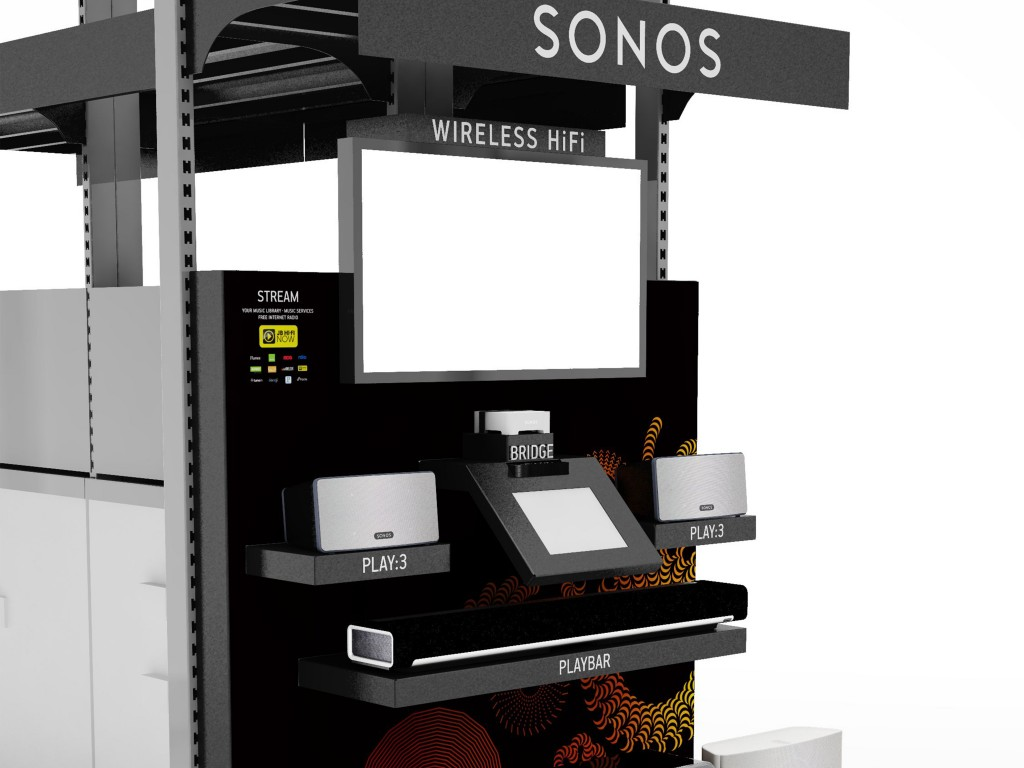 Shop Displays Sonos Model