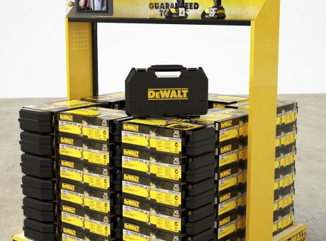 Point of Sale Displays DeWalt