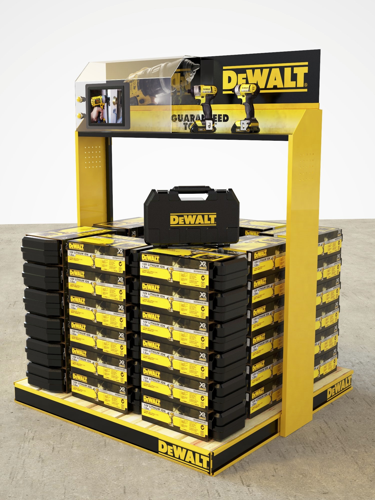 DeWalt Pallet Display