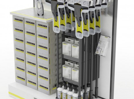 Point of Sale Displays Karcher